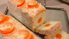 Receta dulce paso a paso de Bizcocho de mango y coco rallado de Horneados por Gross, un delicioso postre muy original para una celebración especial.