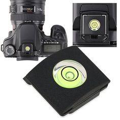 Flat Circular Bubble Level for Camera/SLR/DSLR Hot Shoe
