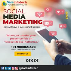 Social Media Platforms have become a very powerful tool to use. Aren't you aware of this yet? Connect with our experts now to know how social media can help you build your business. #socialmediainfluencer #business #influencermarketing #socialmediatrends #startup #entrepeneur #onlinebusiness #socialmediamarketingagency #contentcreation #socialmediamarketingstrategy #digitalmarketingservices #digitalmarketing #contentcuration #onlineadvertising #startupbusiness #entrepreneurship Social Media Marketing Agency, Social Media Trends, Social Media Influencer, Influencer Marketing, Digital Marketing Services, Start Up Business, Online Business, Best Web Design, Web Design Company