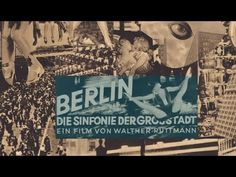 Berlín. Die Sinfonie der Großstadt | Symphony of a Great City (1927) | Walter Ruttman + Opus1 - YouTube