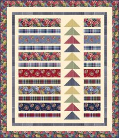 View from the Bay by Wendy Sheppard, Free Projects, Windham Fabrics Small Quilts, Easy Quilts, Mini Quilts, Scrappy Quilts, Patchwork Patterns, Quilt Patterns Free, Free Pattern, Patchwork Ideas, Quilting Projects