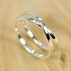 Infinity Ring Pure Silver Unique Style Infinity by seababejewelry, $35.00