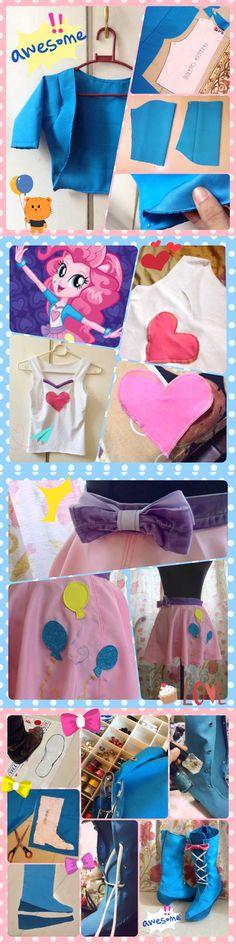 WIP - MLP Pinkie Pie Equestria Girls by nekomiKasai on DeviantArt