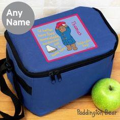 Personalised Paddington Bear Lunch Bag