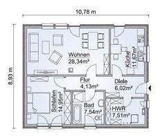 636 best haus grundriss images on pinterest architecture for Grundriss einfamilienhaus 2 vollgeschosse