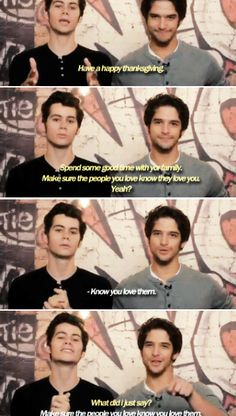 Dylan O´Brien and Tyler Posey part 1