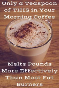 Only a Teaspoon of THIS in Your Morning Coffee Melts Pounds More Effectively Than Most Fat Burners - All Traditional Herbs Rapid weight loss! The best method in Absolutely safe and easy! Healthy Drinks, Get Healthy, Healthy Tips, Healthy Choices, Healthy Snacks, Healthy Habits, Healthy Recipes, Healthy Heart, Diet Recipes