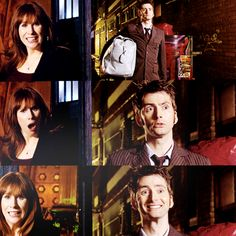 The Doctor: I just want a mate.Donna: You just want TO MATE?!The Doctor: I just want A mate!Donna: You're not mating with me, sunshine!