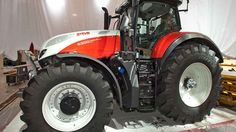 Agritechnica 10 of the latest tractors uncovered - Farmers Weekly Steyr, Cars And Motorcycles, Design