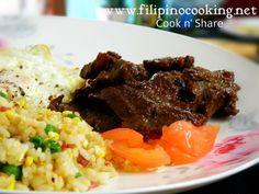 Beef Tapa (Tapang baka)   Cook n' Share - World Cuisines