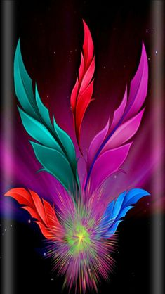 When feathers appear, Angels are near 🙏✌ Ps Wallpaper, Feather Wallpaper, Galaxy Wallpaper, Colorful Wallpaper, Cellphone Wallpaper, Flower Wallpaper, Wallpaper Backgrounds, Art Floral, Art Fractal