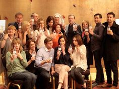 The Downton Abbey cast issue their mea culpa to the infamous water-bottle gaffe