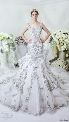 Cheap dress high, Buy Quality dress finger directly from China dress vests for men Suppliers: Luxury Arabic Wedding Gown Bling Bling Beads/Pearls/Embroidery Mermaid Wedding Dresses with Royal Train 2014 Vestido De Noiva Popular Wedding Dresses, 2016 Wedding Dresses, Beautiful Wedding Gowns, Princess Wedding Dresses, Bridal Dresses, Dresses 2016, Glamorous Wedding, Dresses Uk, Dress Wedding