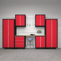 Newage Products Bold Series 7 Piece Cabinetry Set