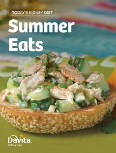 Celebrate summer with fresh flavor and delicious recipes from DaVita's new Summer Eats cookbook. Download today! Dialysis Diet, Renal Diet, Hawaiian Chicken Salad, Hawaiian Rice, Kidney Friendly Foods, Kidney Foods, Kidney Health, Diet Recipes, Diet Tips