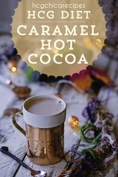 Only 14 calories - Phase 2 hCG Diet Drink Recipe: Sugar-Free Caramel Hot Cocoa - hcgchicarecipes.com - low-calorie beverage - hcg diet phase 2 recipe hcg diet p2 recipe hcg protocol hot drink idea hcg diet hot beverage recipe hcg diet cocoa recipe hcg diet milk recipe hcg diet half and half recipe