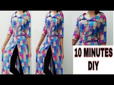 Sewing Patterns For Beginners Woman How To Make 66 Ideas For 2019 Sewing Clothes, Diy Clothes, Clothes For Women, Sewing Patterns For Kids, Clothing Patterns, Kurta Patterns, Kurti Designs Party Wear, Blouse Neck Designs, Diy Dress