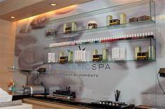 Uno de nuestros clientes referentes. El SPA Essential Moments situado en la ultima planta del prestigioso Hotel Majestic de Barcelona.