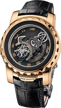 The Watch Quote: The watch Ulysse Nardin Freak Phantom - A whirlwind carousel defying all conventions