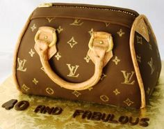 Louis Vuitton Purse Birthday Cake