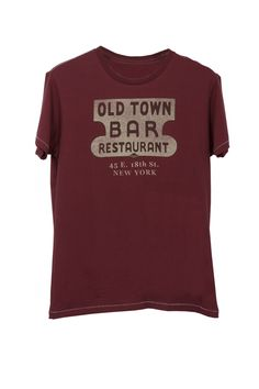 Speakeasy by TAILGATE Old Town Bar Tee $44