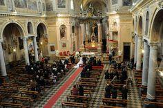 foto della chiesa di Santena nel giorno del matrimonio di Alessandro e Cinzia by nonsolofotopoirino specialisti nel matrimonio low cost