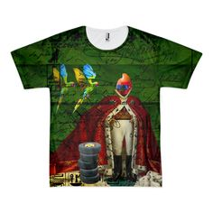 THE DISTORTED KING, THE DISTORTED COLORFUL PAR Tee