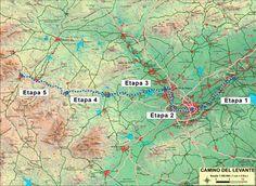Los caminos de la Vera Cruz - Camino de Levante