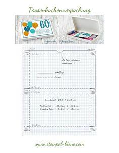 Geschenkbox statt Karte zum Geburtstag