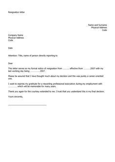 Resignation letter format with reason describing the reason of resignation letter examples spiritdancerdesigns Gallery