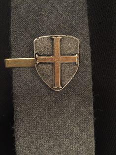 Mens Accessories Shield Tie Clip Tie Clips by ArcanumByAerrowae