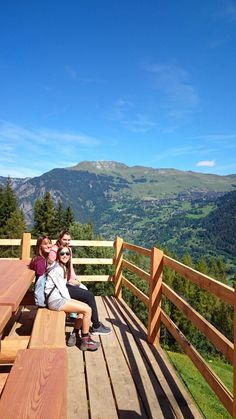 Amazing view on Verbier