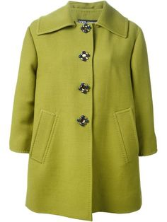 Shop Dolce & Gabbana jeweled button peacoat in Torregrossa from the world's best independent boutiques at farfetch.com. Over 1000 designers from 60 boutiques in one website.