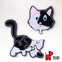 (9) Name: 'Sewing : Cat Puzzle Toy PDF Easy Sewing Pattern
