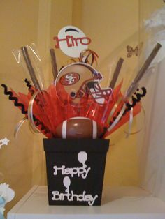 Pimped Out Sf 49ers Candy Dish Trulyoneofakind 49ers Girl Candy Dishes Baby Shower