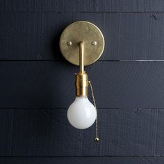 Wall Sconce With Pull Chain Switch Inspiration Pull Chain Switch Chrome Finish Wall Sconce With White Globe Shade Inspiration