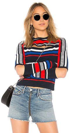 60c321dad71677 Tommy Hilfiger TOMMY X GIGI Gigi Hadid Intarsia Sweater Tommy Hilfiger Top, Tommy  Hilfiger Sweater