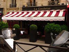 DAD LIKED IT HERE La Gauloise - 59 avenue la Motte Picquet, 75015, Paris (Neighbourhoods: Tour Eiffel/Champ de Mars, 15ème) Paris 2015, Tour Eiffel, Us Travel, Birth, Places To Visit, France, Dining, Nice, Outdoor Decor