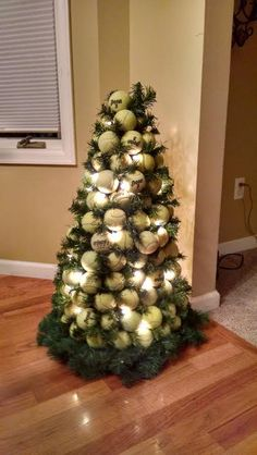 How To Decorate A Christmas Tree With Balls Tennis Ball Ornaments  Christmas  Pinterest  Tennis Ornament