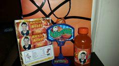 Basketball theme gifts with basketball theme gift bag by PoetVelda and Ty Boyland.