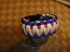 Items similar to Colorado Flag Wide ParaCord Bracelets on Etsy Paracord Projects, Diy Projects, Hold My Heart, Paracord Bracelets, Things To Buy, Fun Facts, Diy And Crafts, Colorado, Jewelry Making
