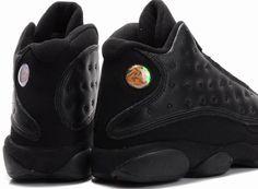 hot sale online 69416 a7e50 Air Jordan 13 Retro Shoes Black