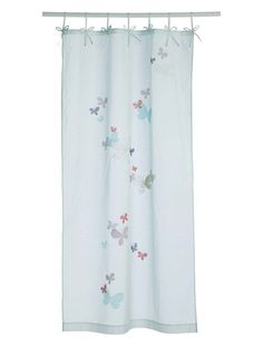 vertbaudet butterfly curtains
