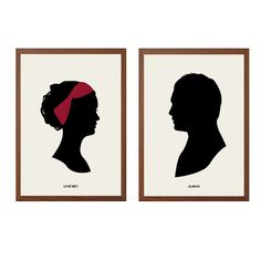GOSSIP GIRL | Love Me? Always Poster : Chuck Blair Modern Illustration TV Series Retro Art Wall Decor