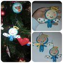 E cá estão algumas encomendas de Natal! Anjinhos grandes e pequenos! Boas Festas!