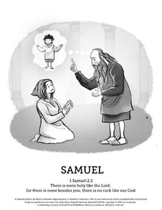 Book of 1 Samuel coloring page Bible Coloring Pages Pinterest