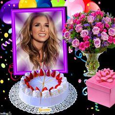 Enhance your photos with Kimi templates. Birthday Photo Frame, Happy Birthday Photos, Happy 50th Birthday, Birthday Frames, Birthday Cake, Good Night Thoughts, Good Night Hindi, Baby Posters, Stylish Girl