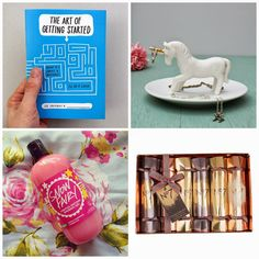 Gifts for Her Under £15 | 2014 Edition #lbloggers #fbloggers #bbloggers #unicorn #lush #fairy #snowfairy #numberseven #giftguide #girly #pastel