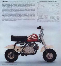 Honda QA50 Mini-Bike