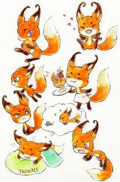 Trixx, the fox Kwami of Rena Rouge and her moments from Miraculous Ladybug and Cat Noir Ladybug E Catnoir, Ladybug Anime, Ladybug Comics, Tikki Y Plagg, Chibi, Miraculous Ladybug Fan Art, Lady Bug, Cat Noir, Drawing Practice